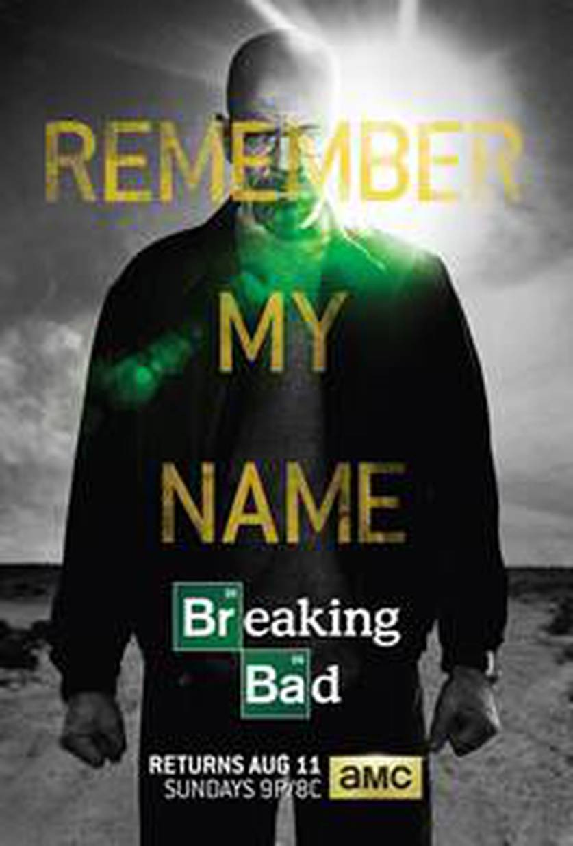 breaking bad remember my name famous dialogue