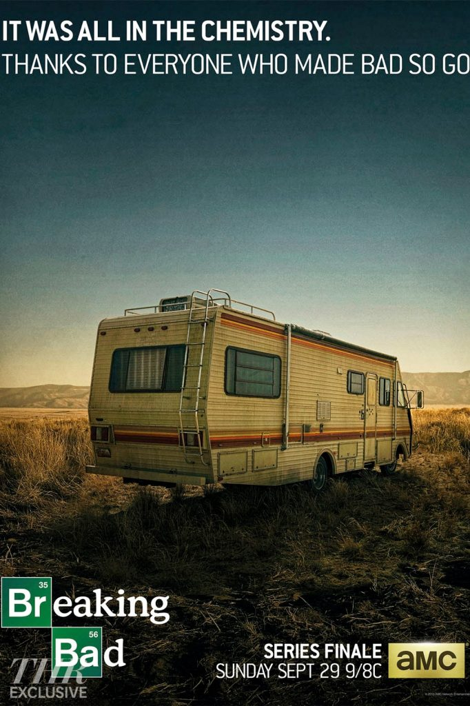 breaking bad Walter and Jesse's RV