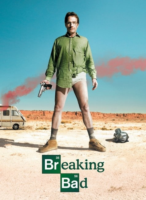breaking bad Walter White holding a gun