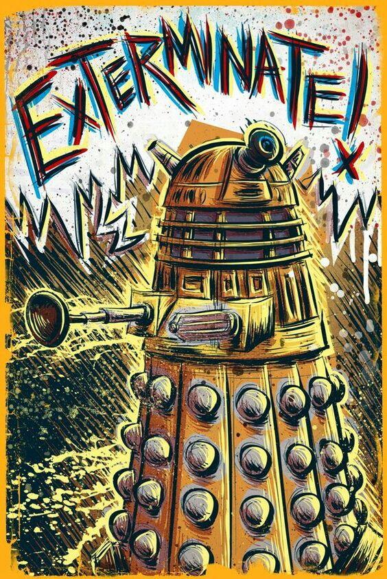 doctor who image of daleks