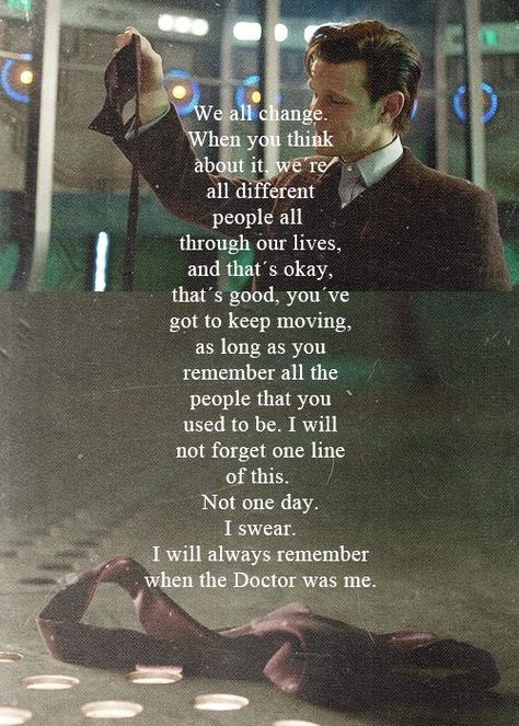 doctor who eleventh doctor's final quote