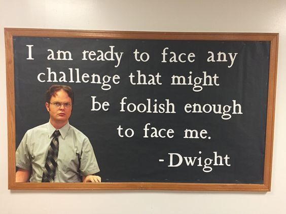 the office dialogue by dwight