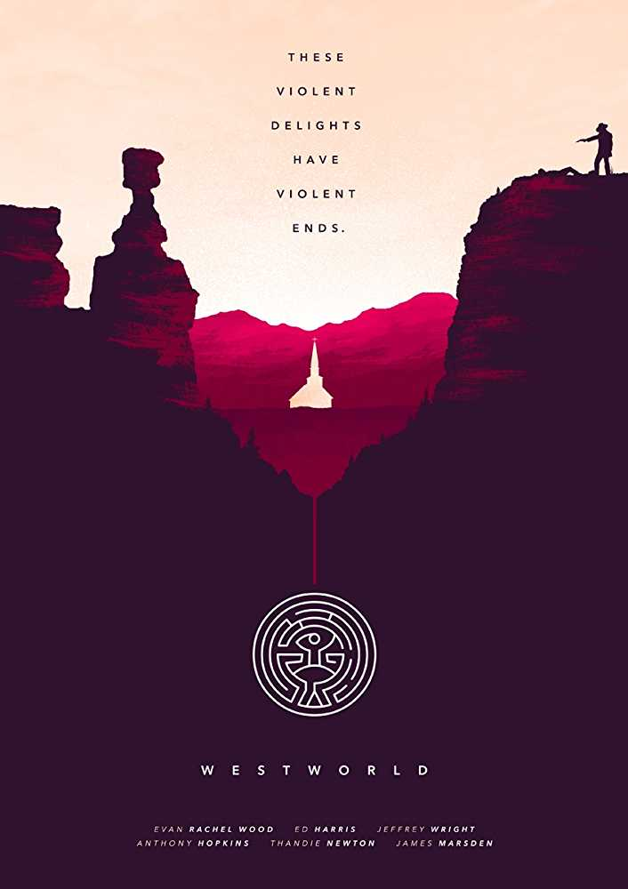 Ed Harris in westworld poster