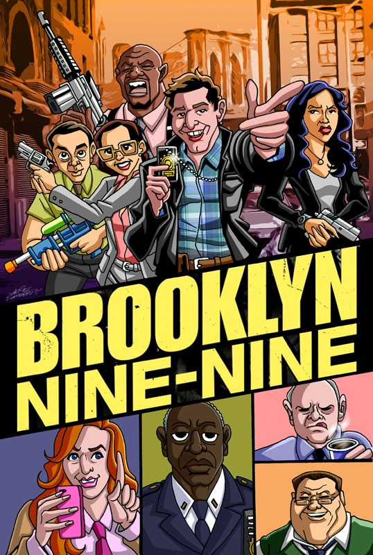 Extra #3 Brooklyn Nine-Nine Poster