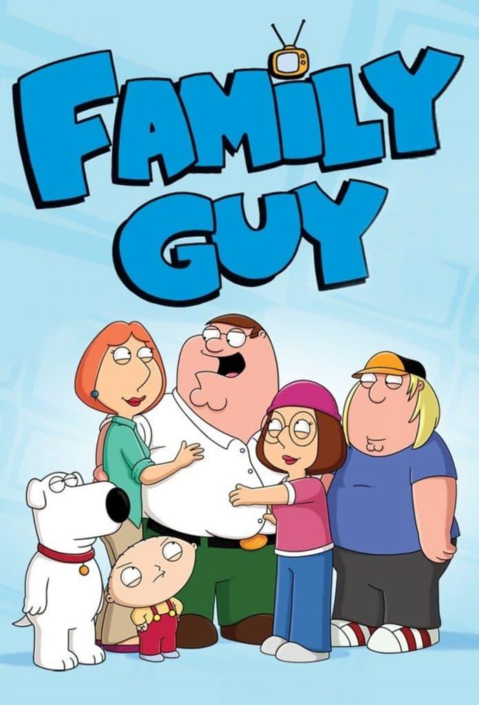 family guy t.v series poster