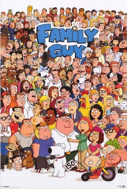 family guy image of whole cast
