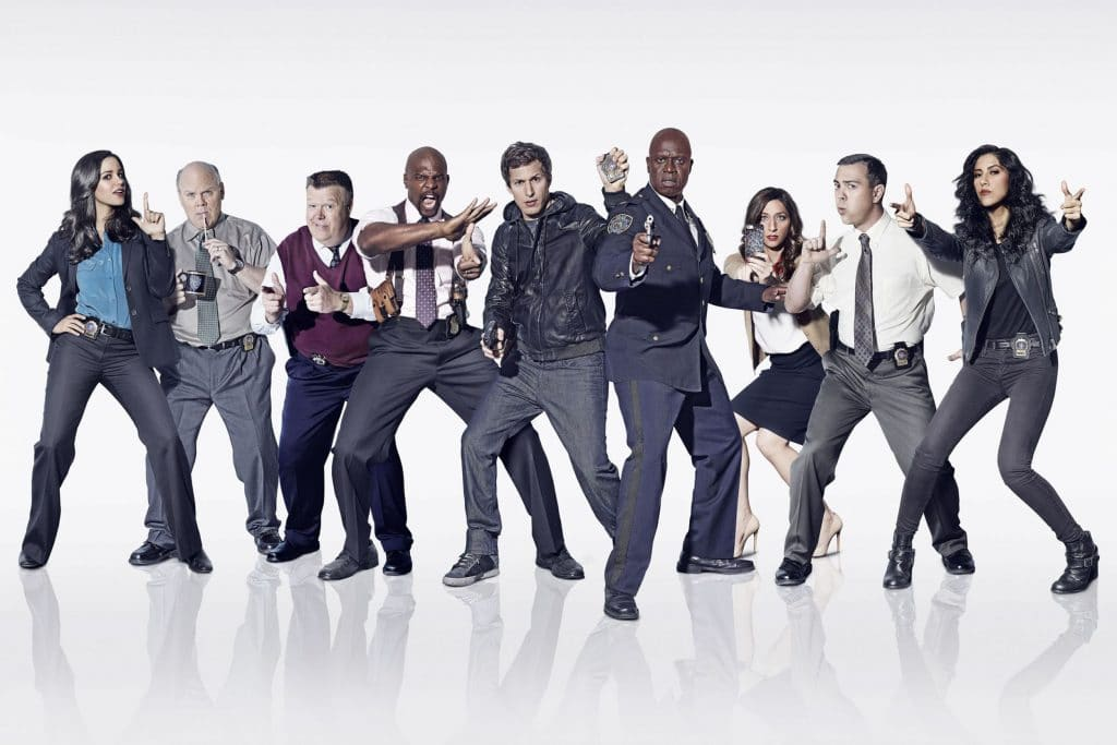 B99 is one of the best American police live-action sitcom.