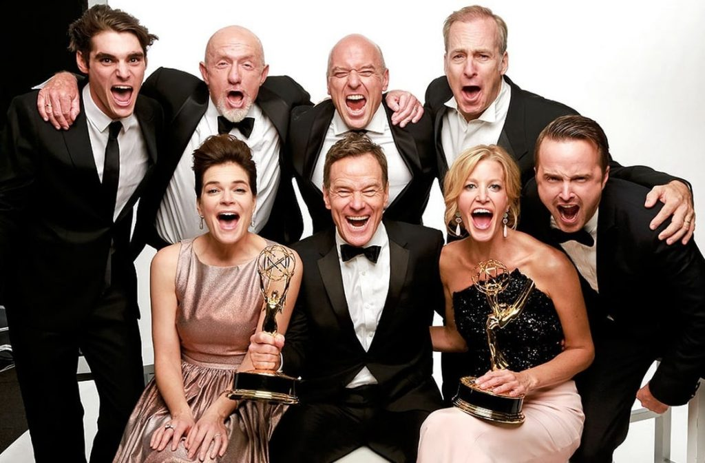 breaking bad whole cast full photo