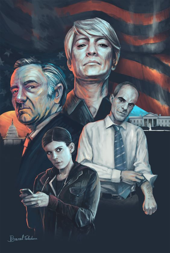 house of cards poster season 5
