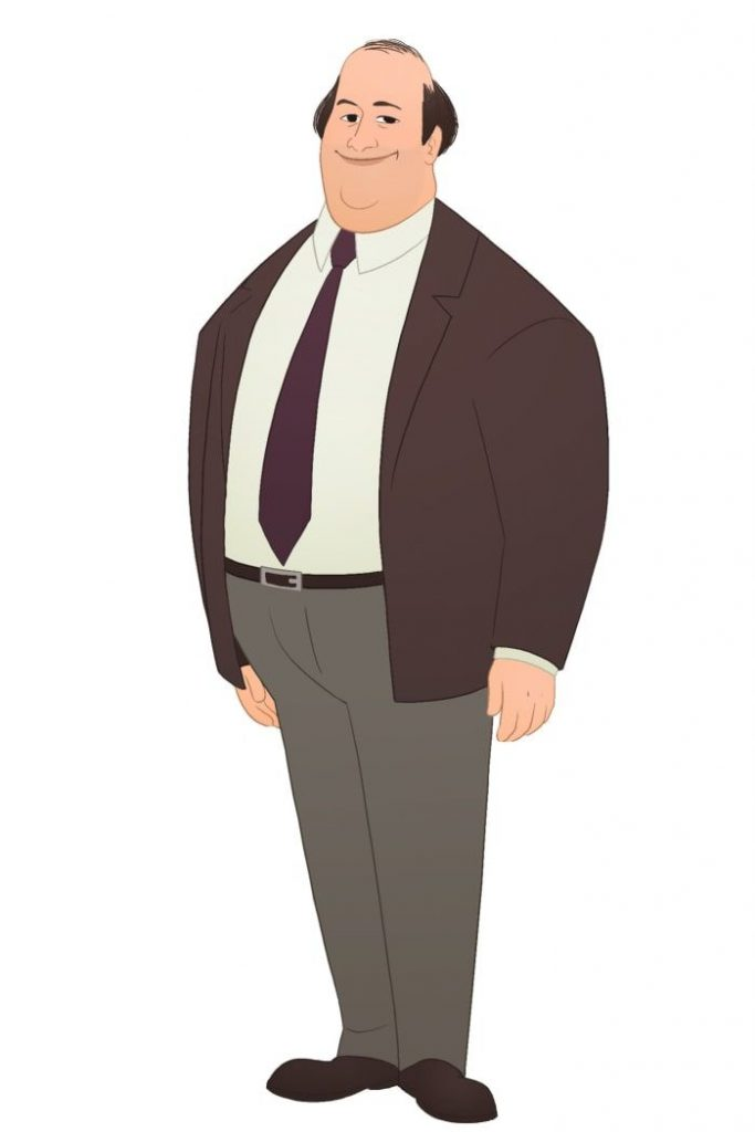 the office image of kevin malone