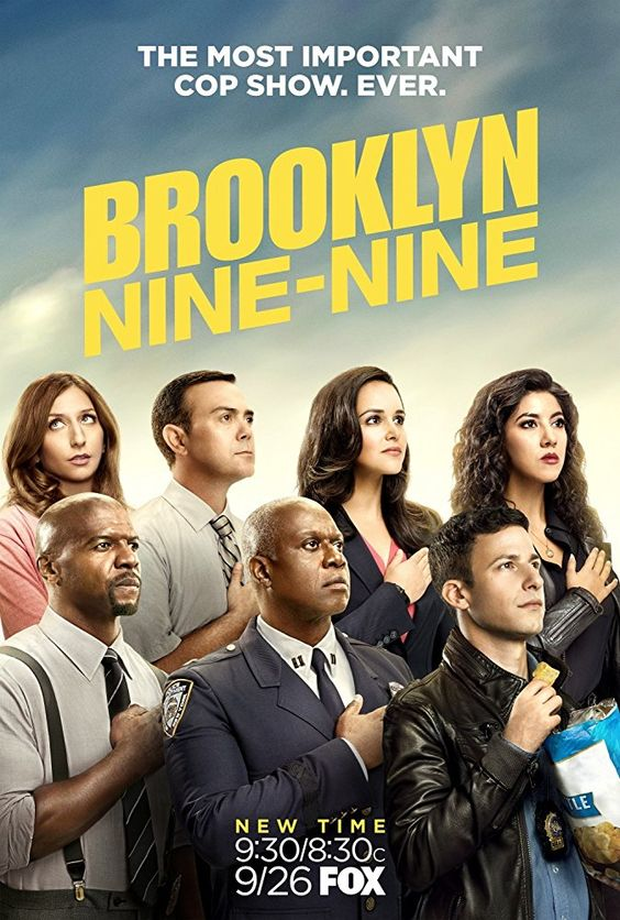 The most important cop show ever Brooklyn Nine-Nine Poster