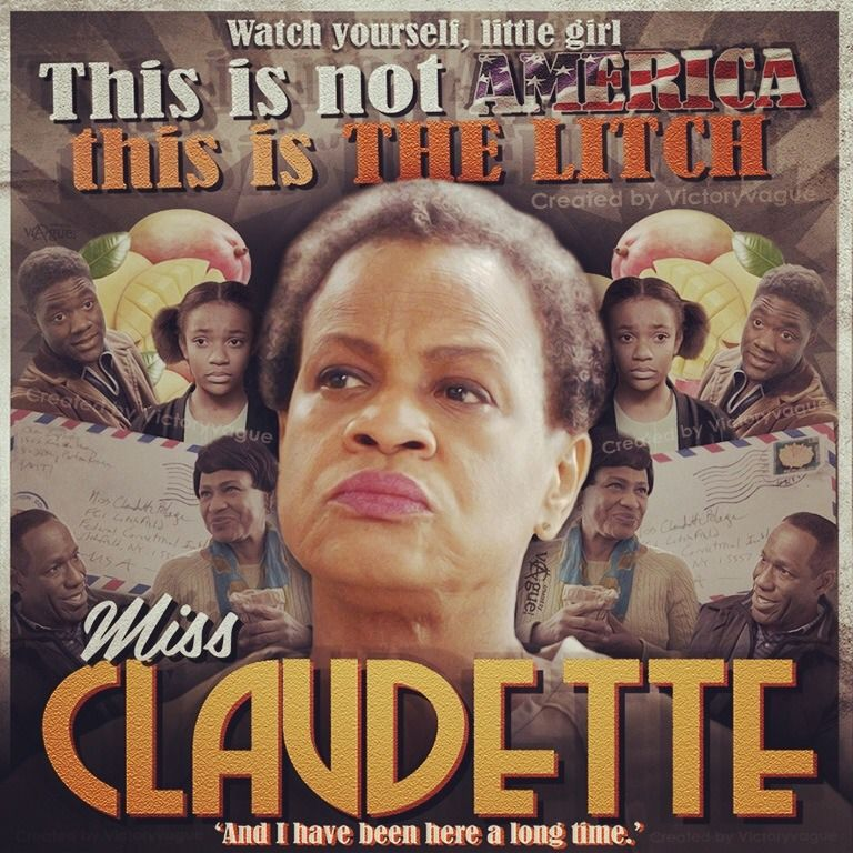 orange is the new black miss claudette poster