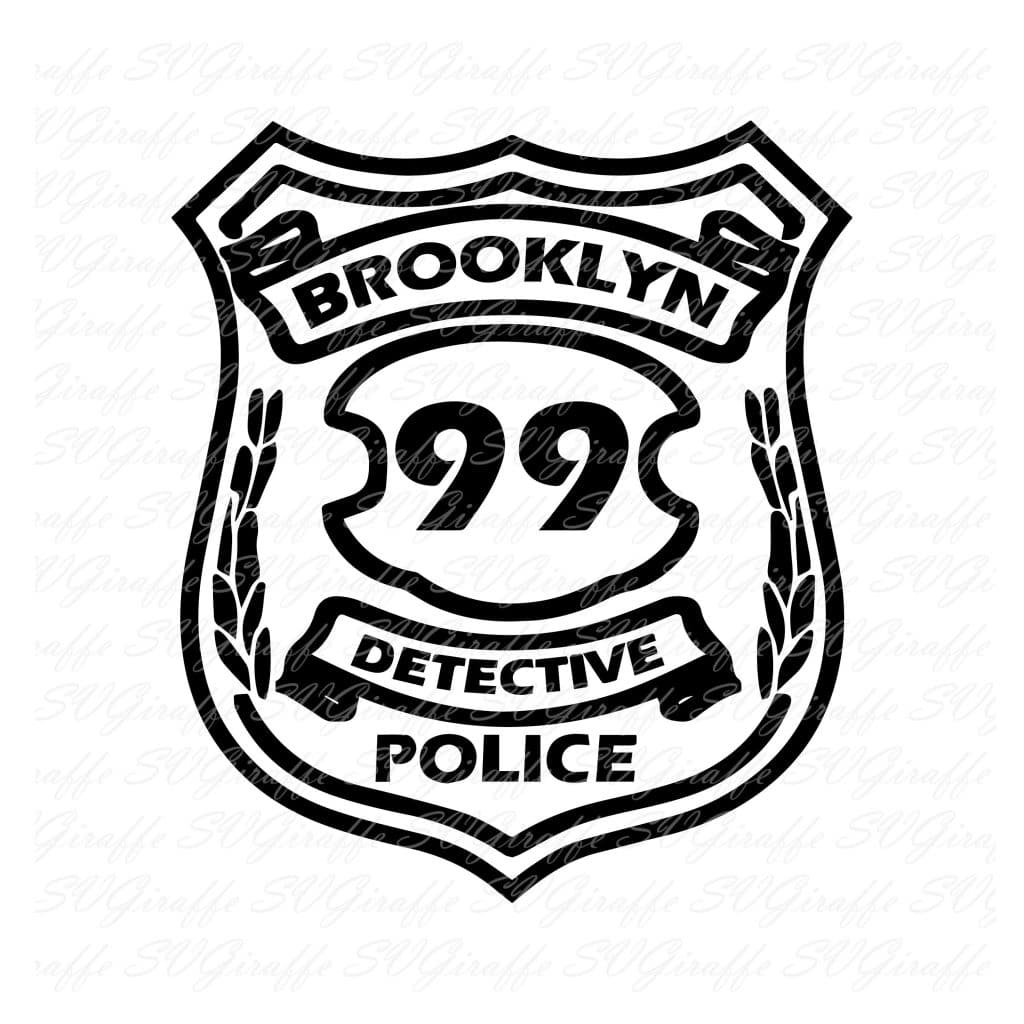 The famous NYPD B99 badge! Brooklyn Nine-Nine Poster