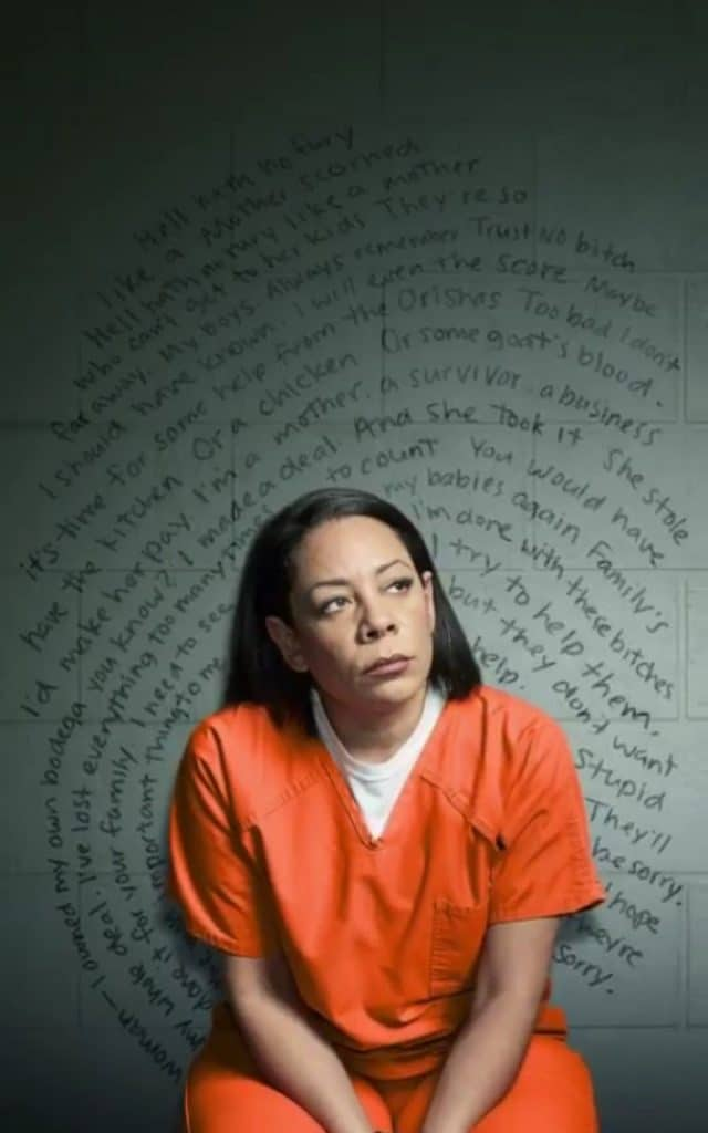 orange is the new black image of Gloria Mendoza season 6 inmate