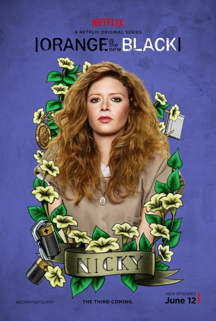 orange of the new black image of nicky nichols witty inmate