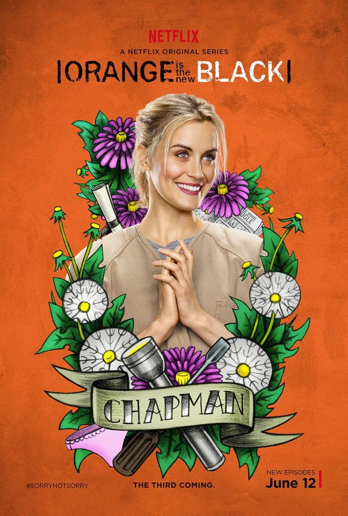 orange is the new black main lead Piper Chapman