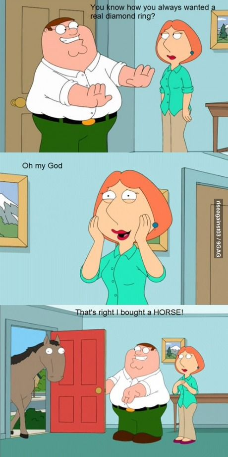 family guy dialogue by peter