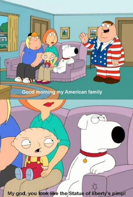 family guy poster brain making fun of Peter