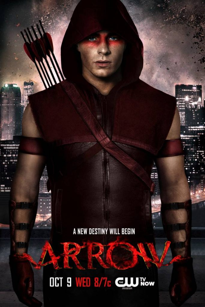 red arrow poster