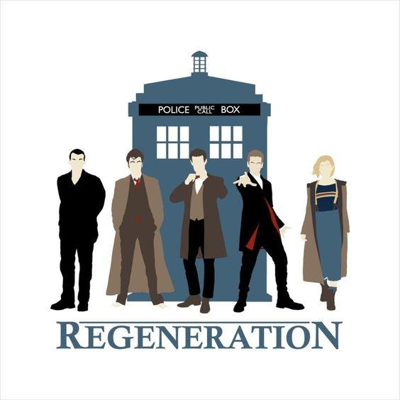 doctor who image of regeneration