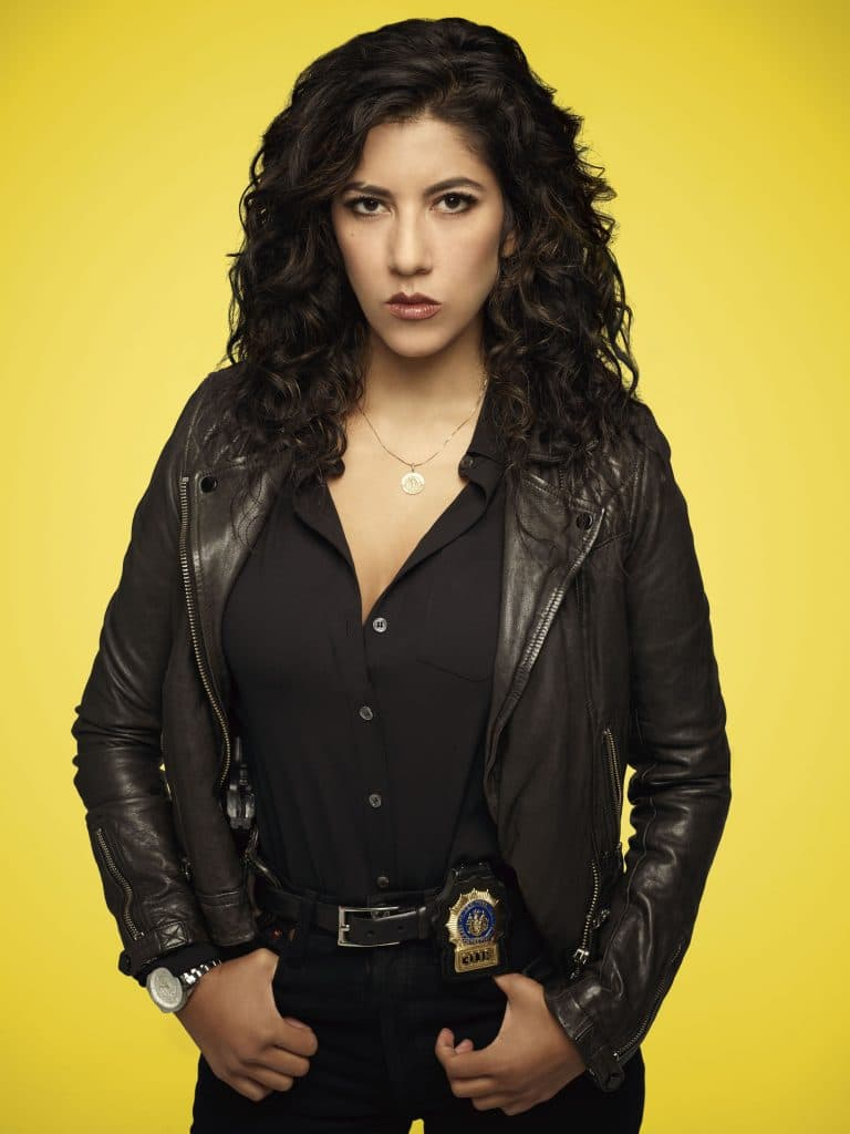Rosa Diaz is the toughest women detective that 99th Precinct could come up with.