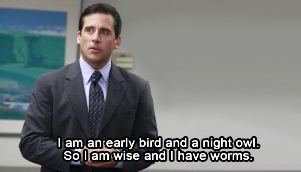 the office famous quote by michael scott