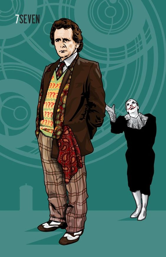 doctor who seventh doctor sylvester mccoy