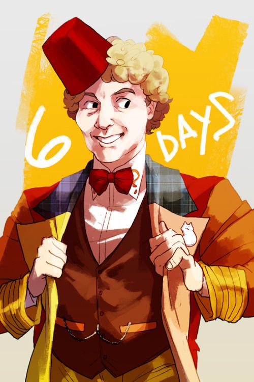 doctor who sixth doctor collin baker