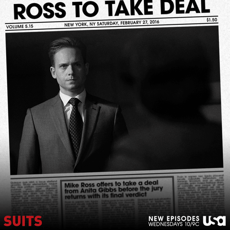 Ross to take the deal.
