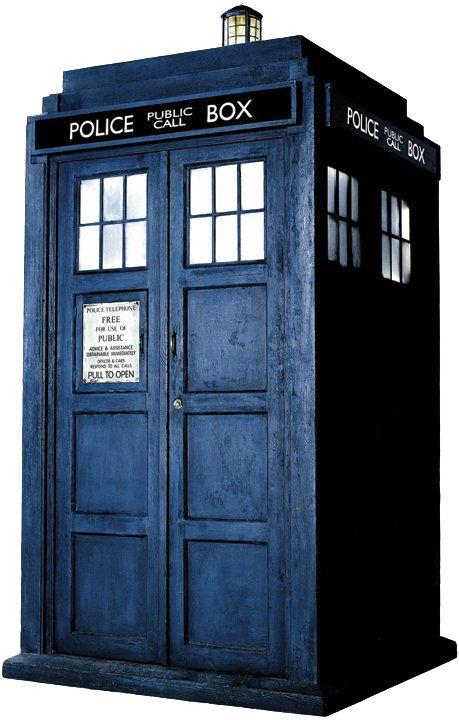 doctor who image of tardis police box