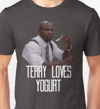 Terry loves yogurt!