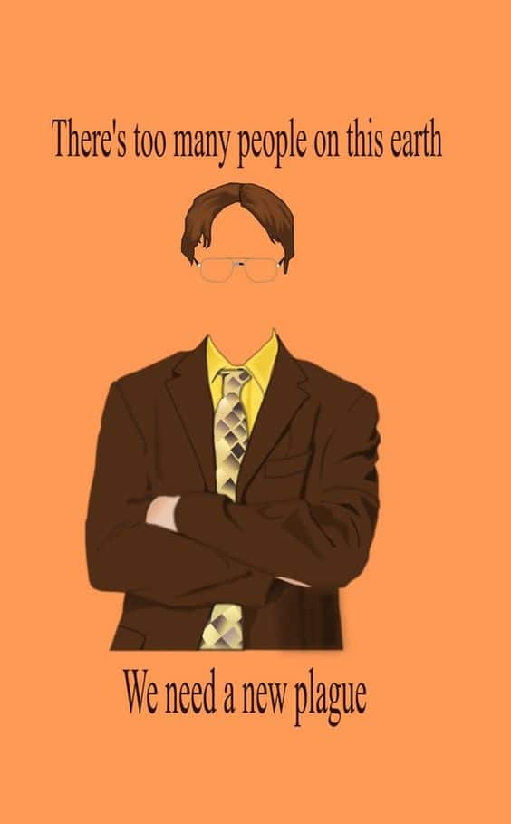 the office famous dialogue by dwight