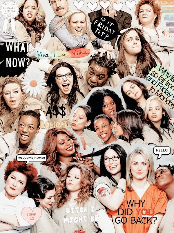 orange is the new black funny poster