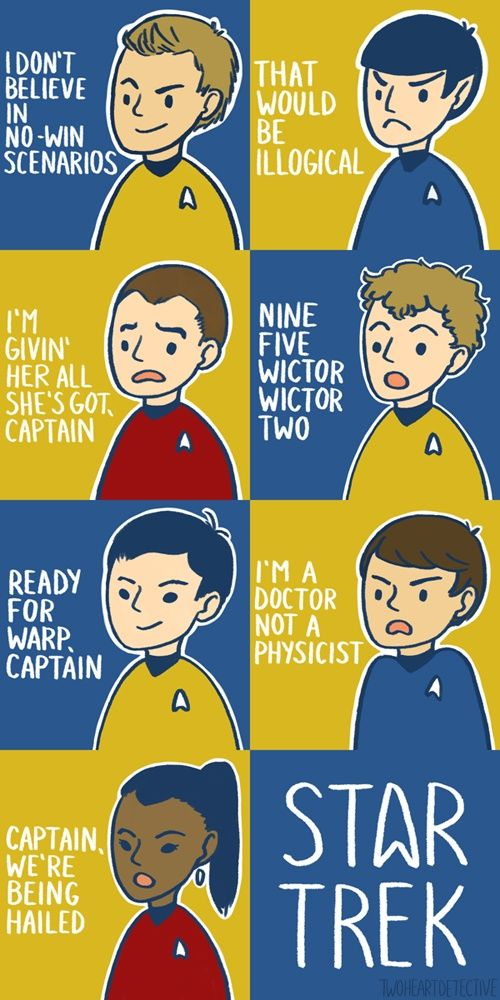 7 classic star trek quotes