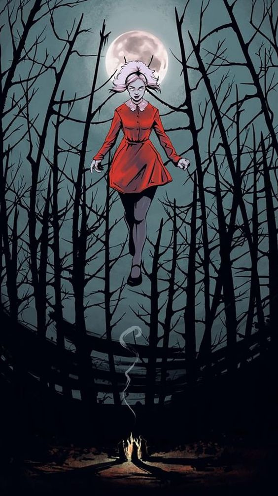 Chilling adventures of sabrina poster 1