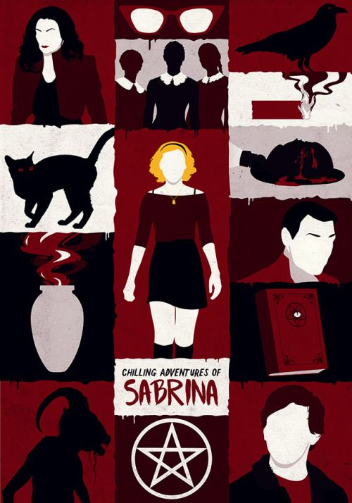 Chilling adventures of sabrina poster 2