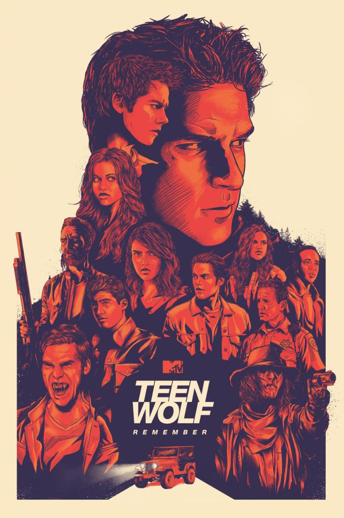 Teen wolf poster 4