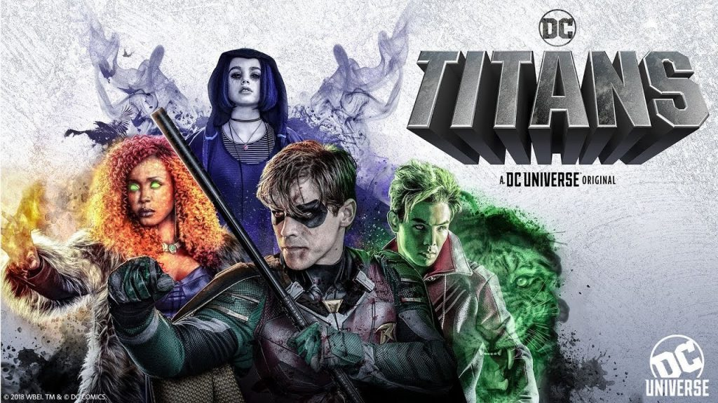 Titans official poster