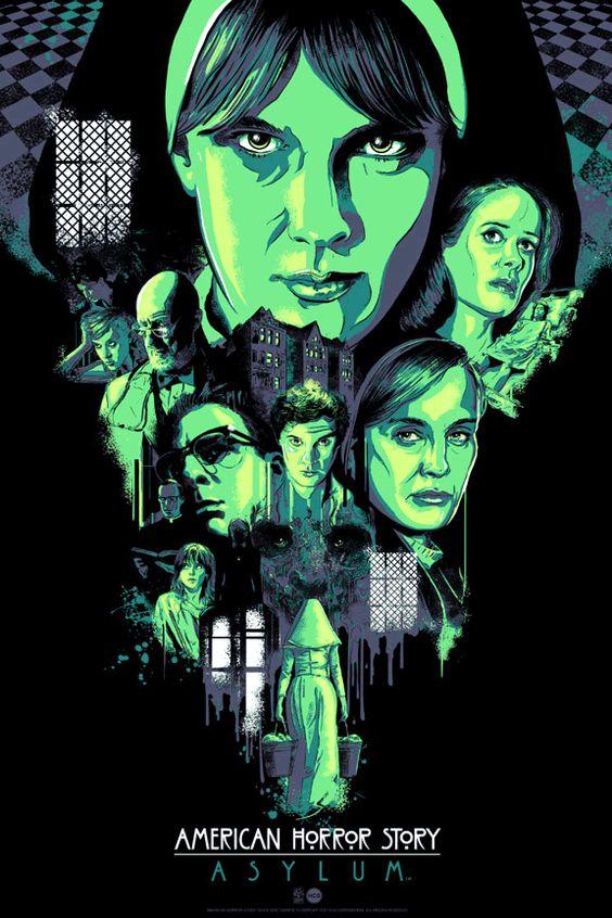 american horror story poster asylum season 2
