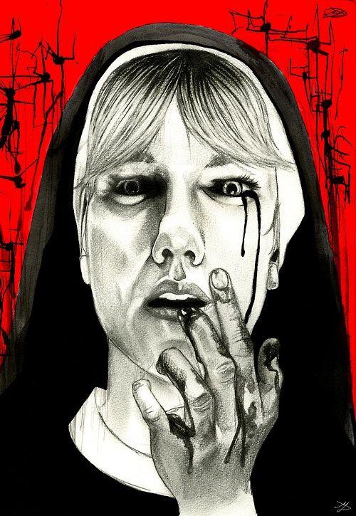 american horror story poster of asylum