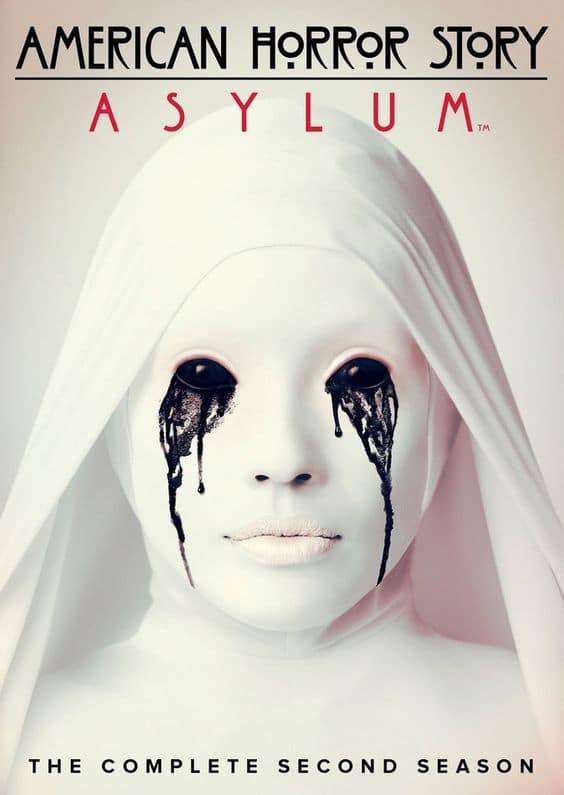 american horror story poster asylum bloody face