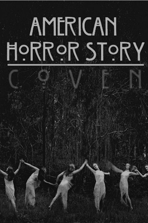 american horror story poster of season3 coven