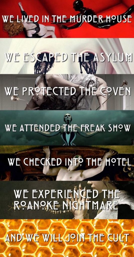 american horror story poster of all seasons