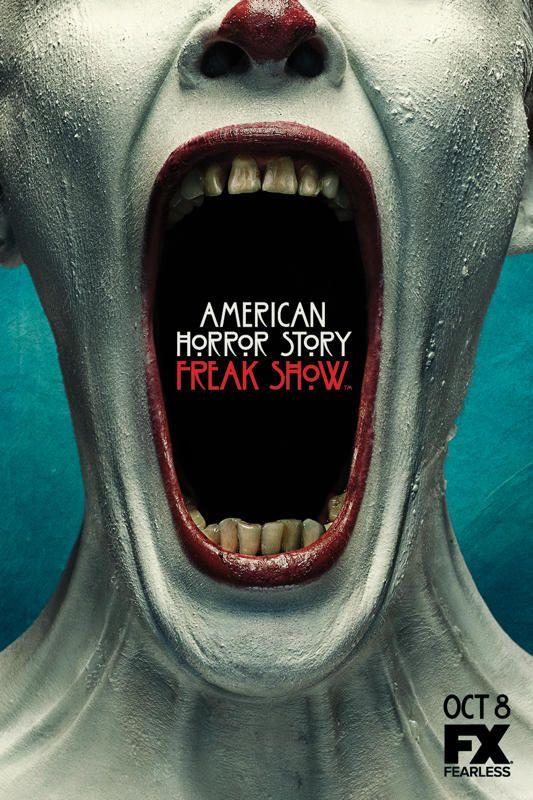 american horror story poster of freak show season 4