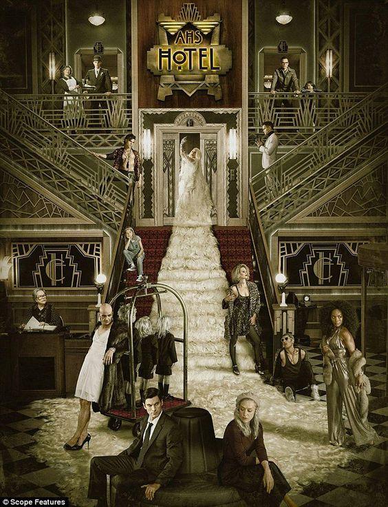 american horror story poster of hotel season 5
