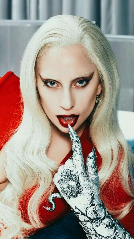 american horror story poster of lady gaga hotel