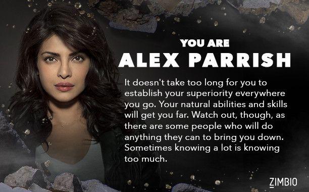 quantico image of alex parrish famous dialogue