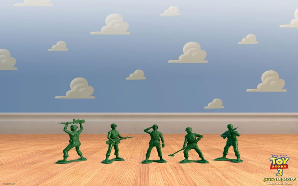 toy story image of army men