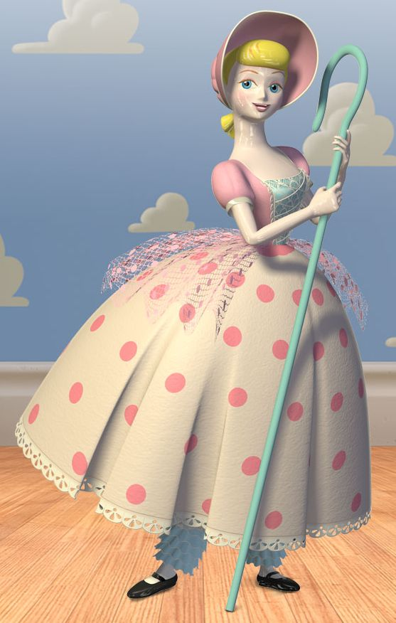 toy story image of Bo Peep lover of Woody