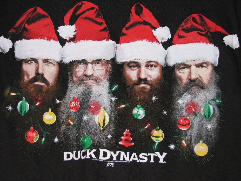 duck dynasty christmas poster